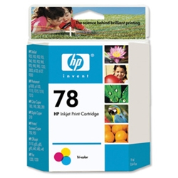 Hewlett Packard [HP] No.78 Inkjet Cartridge 19ml
